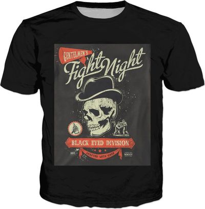 ROTS Fight Night Adult T-Shirt (CT) $25.00