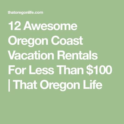 Been thinking about getting away from the daily grind and planning a vacation with loved ones? You can never go wrong with taking a vacation on the Oregon Coast