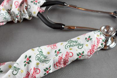 Stethoscope Cover- Merry Christmas $7.99