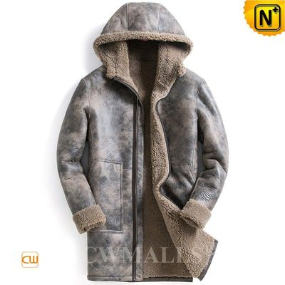 Chicago Custom Men Printed Sheepskin Parka CW818356 | CWMALLS.COM