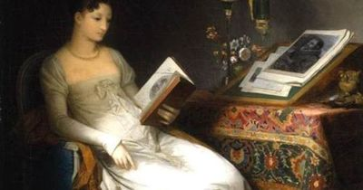 Lady Reading in an Interior - Marguerite Gérard 1795 Art, posters and prints of a woman or women reading repostned by www.AboutHarry.com