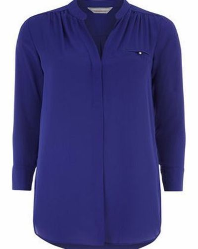 Dorothy Perkins Womens Petite blue long line shirt- Blue Petite blue long line shirt with a tab pocket. 100% Polyester. Machine washable. http://www.comparestoreprices.co.uk//dorothy-perkins-womens-petite-blue-long-line-shirt-blue.asp