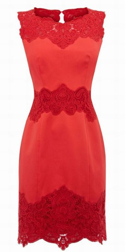 Lace pencil dress - classy dress for the holidays