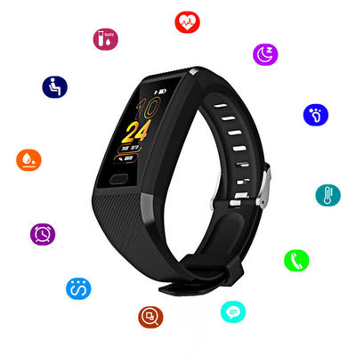 XANES® 118Plus 1.14'' Color Screen IP67 Waterproof Smart Watch Anti-lost Blood Pressure Oxygen Monitor Sports Fitness Bracelet