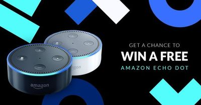 My friend is running a contest and giving away a free Amazon Echo Dot. No obligation and the more you share, the more chances to win.