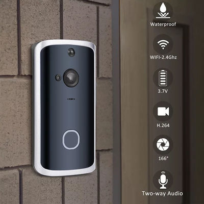 Smart Wireless WiFi Doorbell IR LED Video Camera Two-Way Talk Home Security