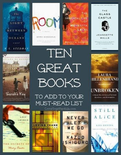 Great Books for a Book Club ~ check these out!