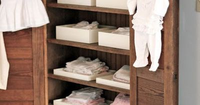 cute! I love how the rustic look contrasts all the clean white baby stuff:) Mothers Love Free Information on how to (Make Money Online) http://ibourl.com/1nss