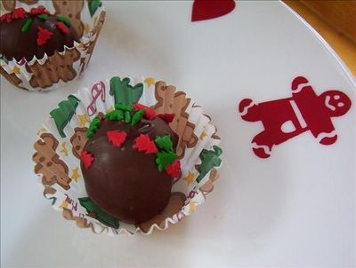 truffles and gingerbread.