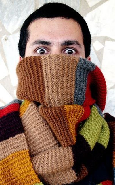 Doctor Who Fourth Doctor Scarf FREE Pattern