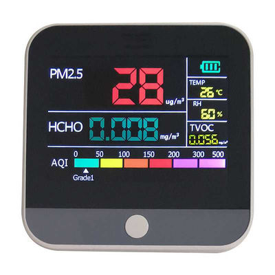 Digital Air Quality Monitor Hcho Pm2.5 Detector Tester Home Gas Monitor/Gas Analyzer/Temperature Humidity Meter Diagnostic Tool