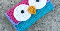 Crochet owl 3DS Case