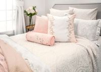 Henna Beige Coverlet by Kevin O'Brien Studio $495.00