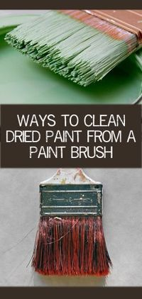 It is best to clean your brushes before the paint dries, of course, but if your brushes have dried paint�€� Read more »