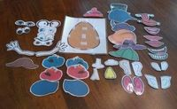 Since my busy bag swap was such a success, another group has decided to do one as well. They graciously invited me to join in the fun. For this swap, I decided to go a little more intensive and I made a Mr. Potato Head project. When I looked on the web an...