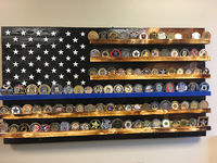 19 X 36 Thin blue line 90-100 coin holder $110.00
