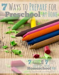 In my fifteen years of homeschooling, my biggest challenge has always been keeping the toddlers and preschoolers busy while I homeschooled the older children. I