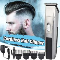 Professional Electric Hair Clipper Rechargeable Hair Trimmer Hair Shaver Kit