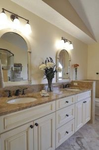 Master Bath - I like the cabinets and the color