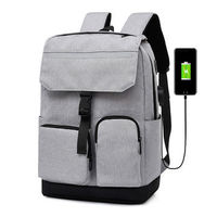 15.6 inch Laptop Bag with USB Charging Port Reflective Strip Laptop Backpack for Travel School Bag