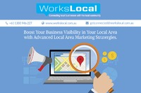 Workslocal marketing plan helps you to identify your customers, competitors and boost your business visibility in your local area with advance Local Area Marketing Strategies. Their experts' goal is to increase sales, or marketing focus to build you...