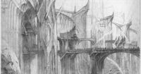 The Foundations of Barad-dûr (1) by John Howe