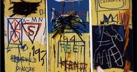 Charles the First, 1982, acrylic and crayon on canvas, 198 x 158cm