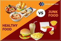 junk healthy food.jpg  When choosing food we have healthy meal choice. Don't choose junk food for your body. Order & Book your table on http://www.pacificrimthai.com.au/ 'Ÿ'' 68 Bridport St West, Albert Park VIC 3206 'Ÿ&...