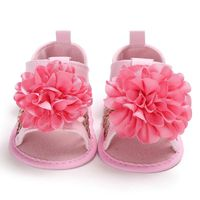 Flowers Sandals for Girls Newborn Baby Shoes Summer Flowers Cute Baby Girl Sandals Fashion Breathable Soft Beach Baby Sandals $11.99