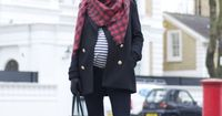 For my no less than 15 pregnant friends right now. Rocking preggers streetstyle