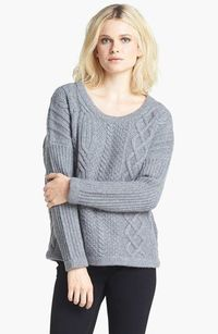 rag & bone 'Cara' Cable Knit Pullover | Nordstrom