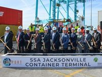 JAXPORT breaks ground on $239 million terminal upgrade