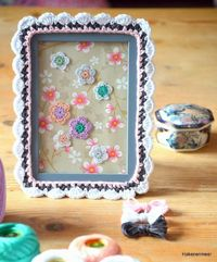 Picture frame tutorial by Haken en meer.