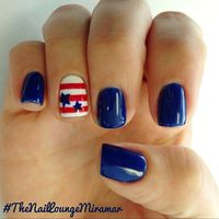 the nail lounge miramar's festive tips. Show us your 4th of July-inspired nails! Tag your pic #SephoraNailspotting to be featured on our social sites.