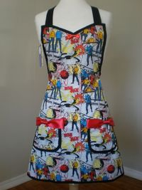 Star Trek Inspired Cooking apron cosplay by HauteMessThreads,