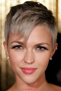 Super Short Pixie Haircut Pictures 2014
