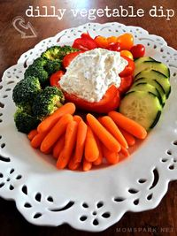 Dilly Vegetable Dip Recipe yield: 2 CUPS prep time: 10 MINUTES cook time: 1 HOUR (CHILL) total time: 1 HOUR 10 MINUTES ingredients: 1 cup ma...