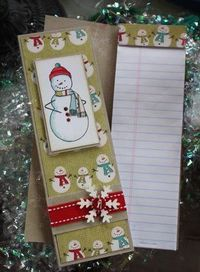 Mish Mash: Mini Christmas Notebooks