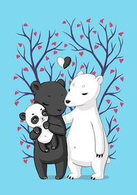 'Bear Family' by Freeminds