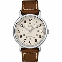 Timex Weekender® 2-Piece Leather Strap Watch - Cream @The Lavender Lilac