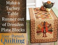 Make a Quilted Table Runner