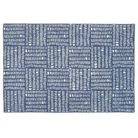 4 x 6' Tally Rug (Blue) | The Land of Nod