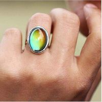 MOOD RING - OVAL $10.00