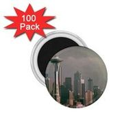 """Grey Seattle Focus Shift 1.75"""" Button Magnet (100 pack) by stineshop $94.99  Digital art, Seattle skyline in grey with focus shift (blurry) effect.  Like(0) Product Details Our button magnets offers you much fun in the ..."""