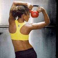 Drop the dumbbells and burn calories and fat with kettlebells