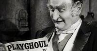 Grandpa Munster and his Playghoul Magazine