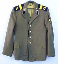 Russian Soviet Army Military Tunic Blazer Sergeant Uniform Military Jacket $37.00