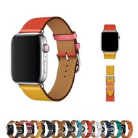 Genuine Leather strap for apple watch Bands 42mm 38mm 44mm 40mm $27.99