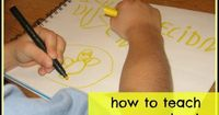 6 tips for how to teach preschoolers to write!