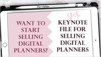 2020 Dated Digital Planner Editable File for Planner Makers & Sellers - Commercial Use - No licenses $24.99